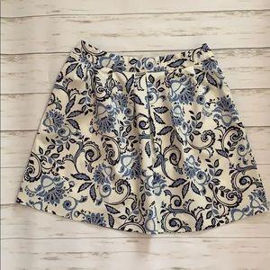 Loft Paisley Skirt